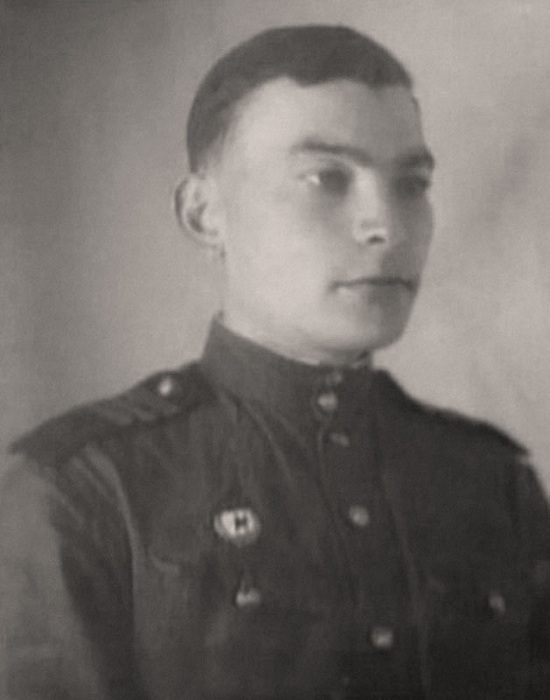 Младший сержант Петр Глебов.