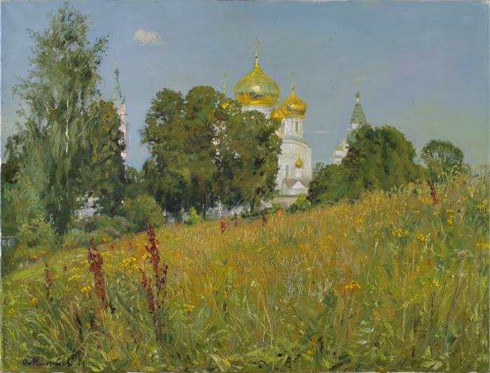 Август. Ипатьевский монастырь. Автор: Олег Молчанов.