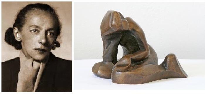 Екатерина Николаевна Кобро -художница-авангардистка,скульптор.