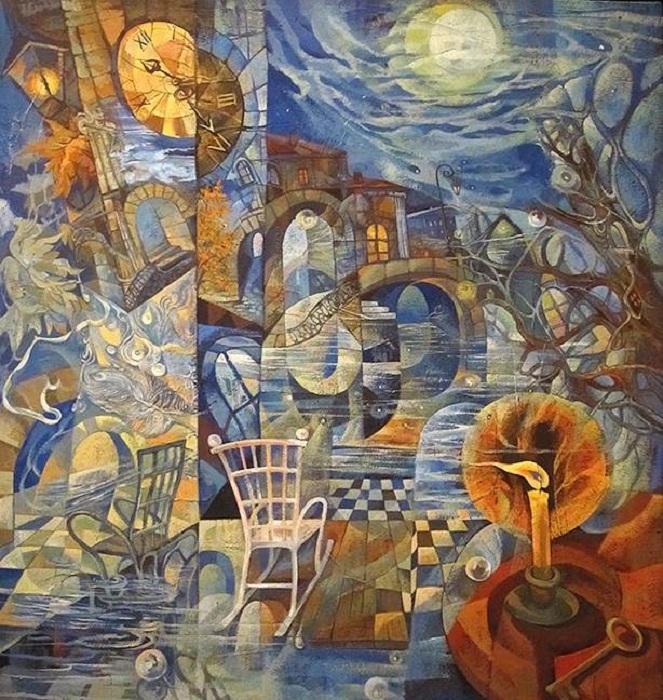 Параллельные миры. Автор: Наталия Шатрова.