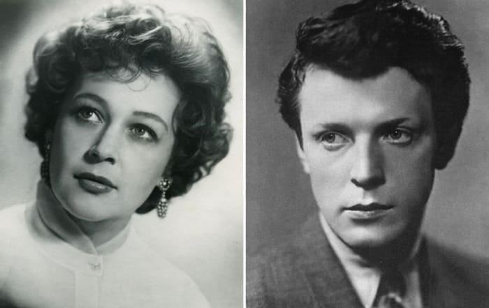 Марианна Бебутова и Олег Стриженов.
