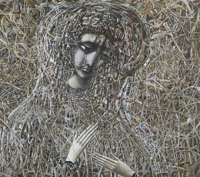 Украинская (Чернобыльская) Мадонна. Автор: Иван Марчук.
