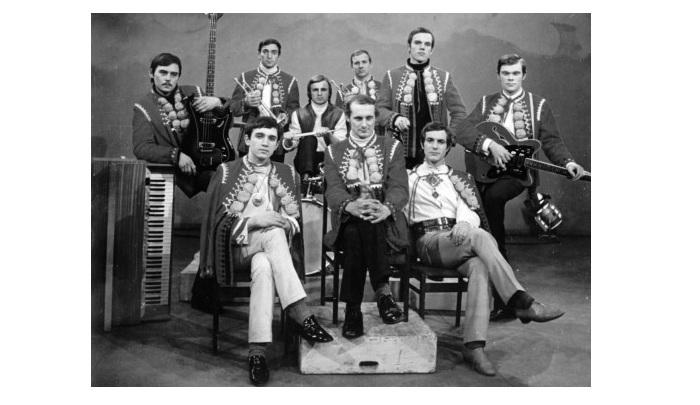 Легендарный вокально-инструментальный ансамбль «Смеричка». (Год создания 1966.