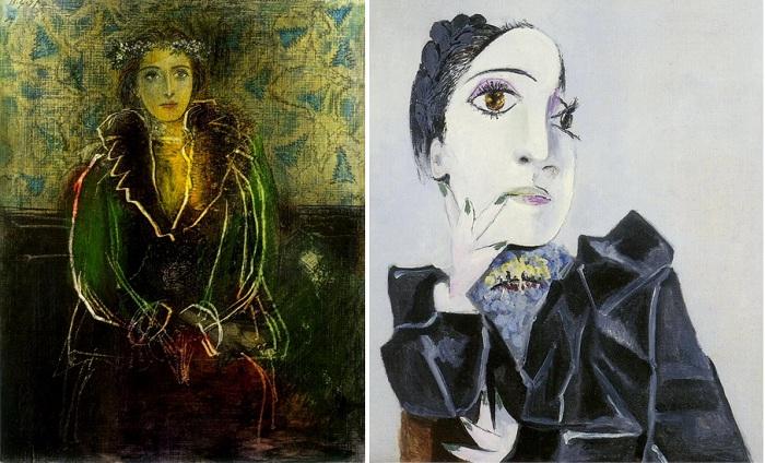 Портреты Доры Маар. (1936-37г.г.)