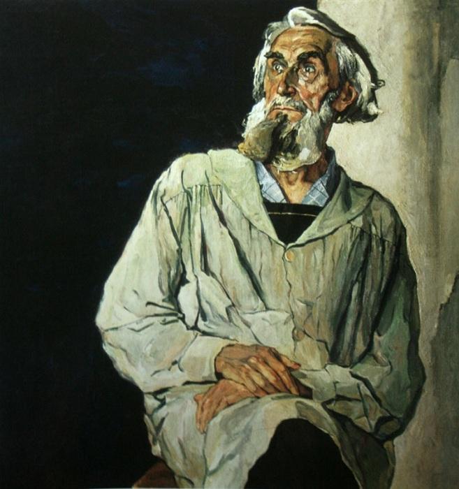 Портрет Сергея Коненкова.