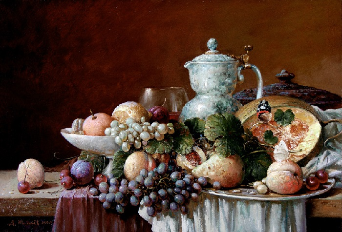 Натюрмортная живопись от  Александра Шевелева.