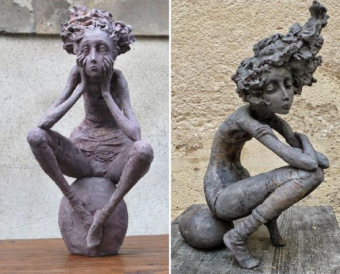 Уныние./ Печаль. Из цикла «The Little Women series». Автор: Valеrie Hadida.