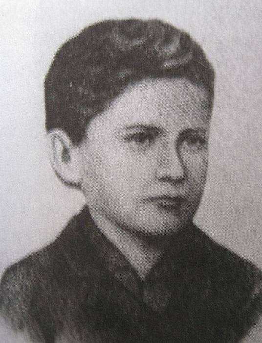 Иван Франко в юные годы.
