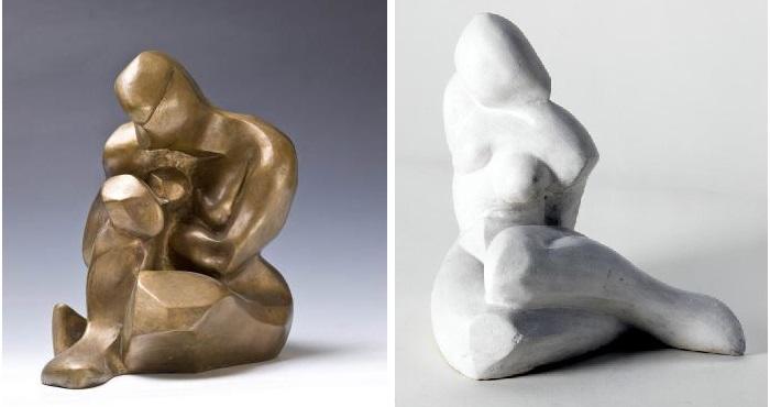 Скульптуры Екатерины Кобро .