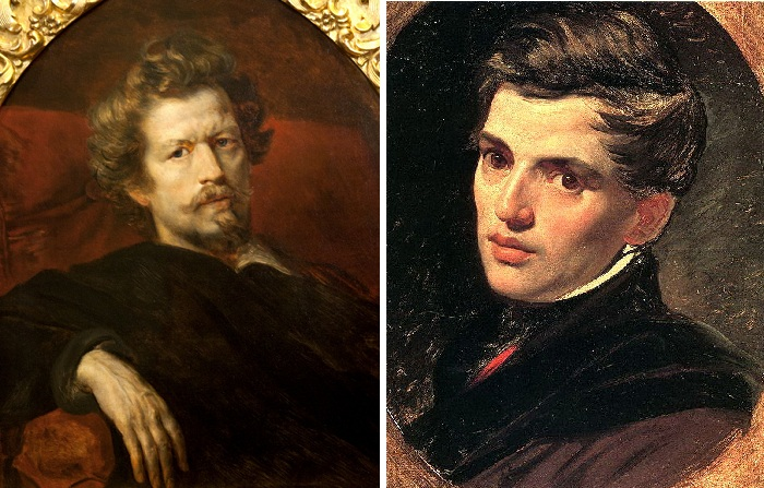 Карл и Александр Брюлловы.