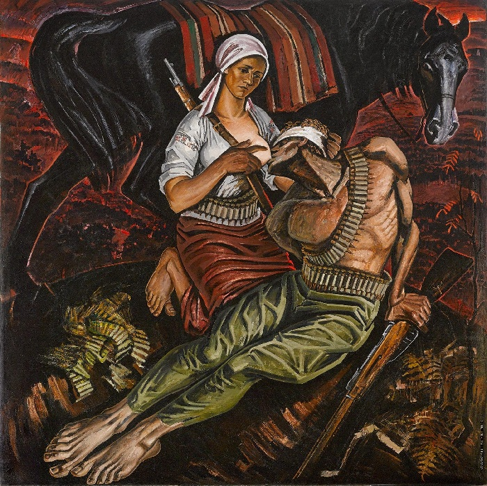 Партизанская баллада. (1969). Автор: Май Данцинг.