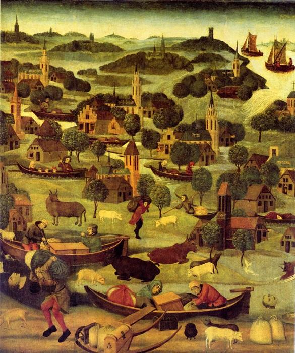Наводнение Святой Елизаветы (1421).