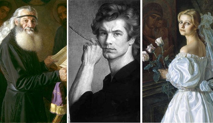 Портреты Александра Шилова