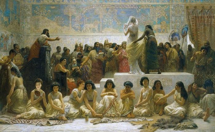Древний Вавилон и его невообразимые обычаи глазами художника XIX века