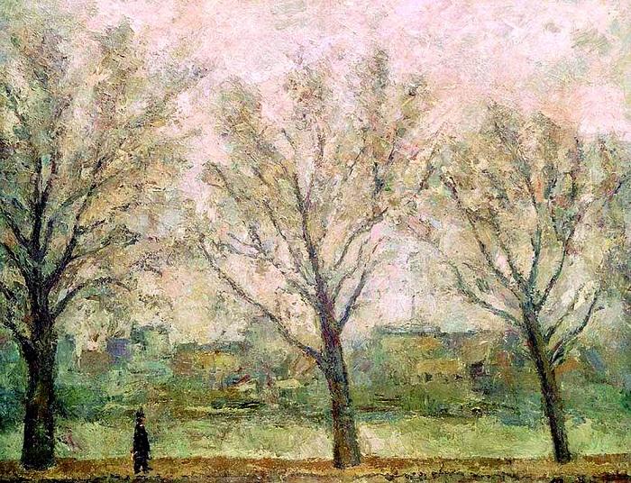 Три дерева.  (1936г.). Автор: Роберт Рафаилович Фальк.