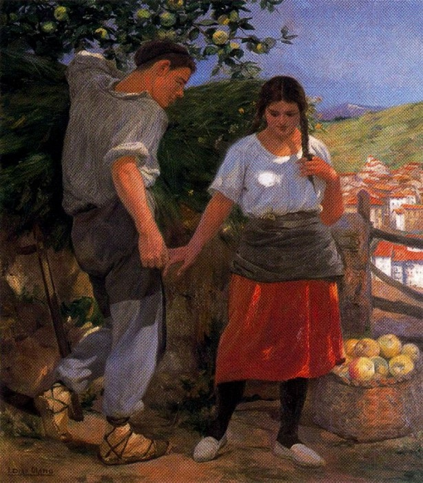 «Идиллия». (1924-25 г.г.)