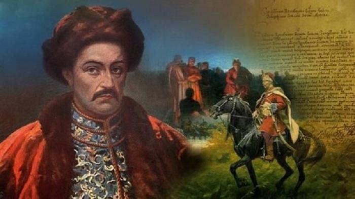 Иван Мазепа - известный украинский политик рубежа 17-18 столетия.