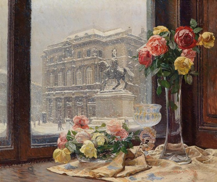 *Окна в живописи* от Paula Thury.