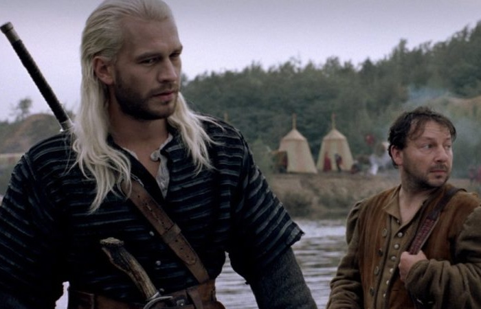 Михал Жебровский в роли Белого Волка в сериале «Ведьмак».