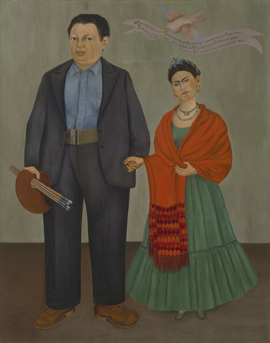 Диего и Фрида. Автор: Фрида Кало