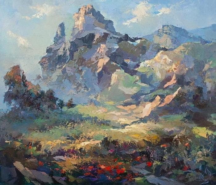 «Солнечный день в горах». Автор: Юрий Козяр.