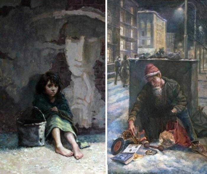 Не детское детство. Реалистический сюрсимволизм от Андрея Шатилова.