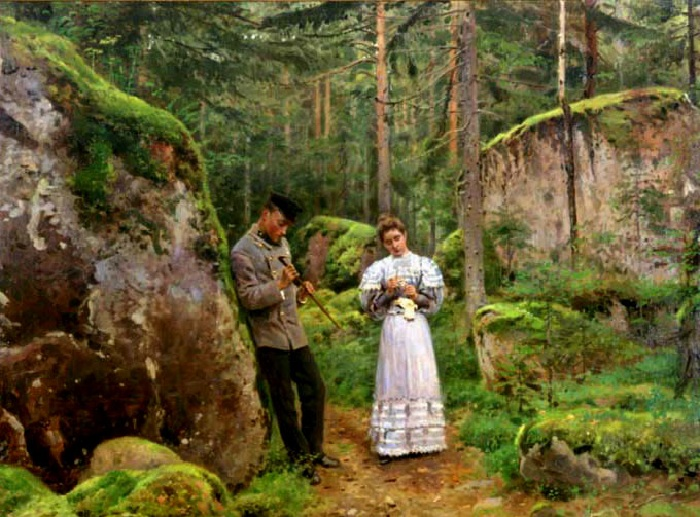 «Объяснение». (1889-1891).