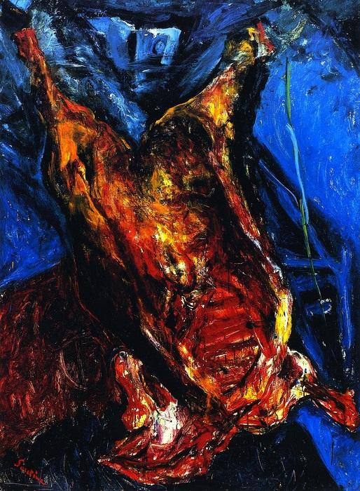 Бычья туша. Цена: 28 165 750 долларов. Автор: Хаим Сутин.