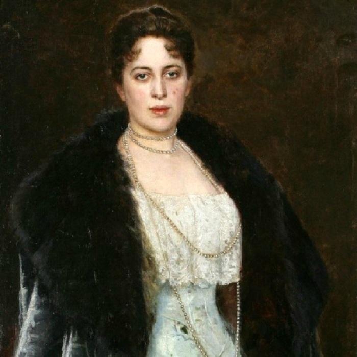 Портрет Маргариты Кирилловны Морозовой, (1897 год). Автор: Николай Бодаревский.
