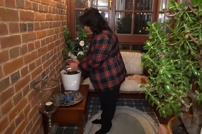 Лоджия в квартире Надежды Бабкиной. | Фото: lady.mail.ru.