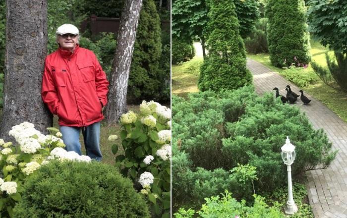 «Дома у меня целый зверинец плюс ботанический сад». | Фото: instagram.com.