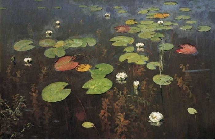 «Ненюфары» (Водяные лилии). Художник Исаак Левитан.