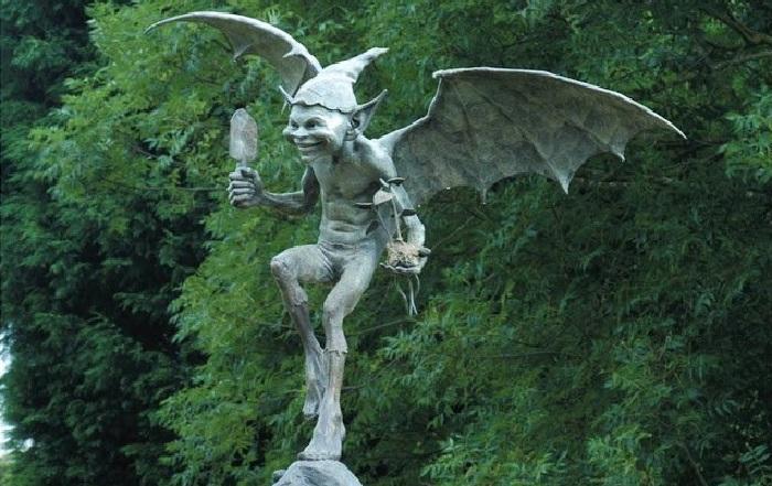 Садовые скульптуры из бронзы Дэвида Гуда. | Фото: liveinternet.ru.