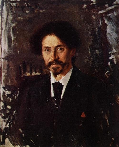 Портрет И.Е. Репина. (1982). Автор: Валентин Серов. | Фото: artchive.ru