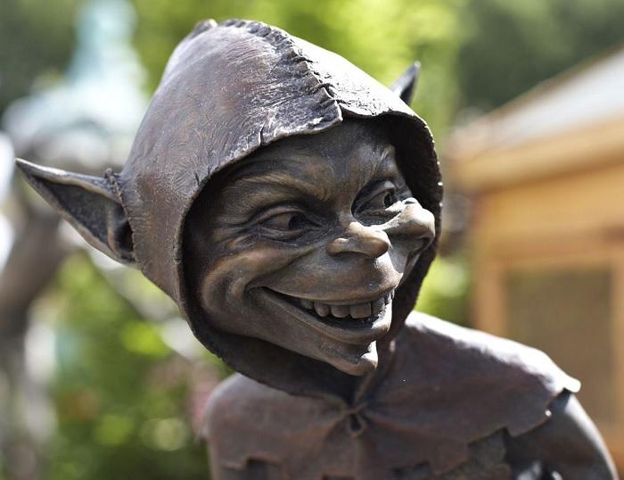 Бронзовый озорник Дэвида Гуда.| Фото: liveinternet.ru.
