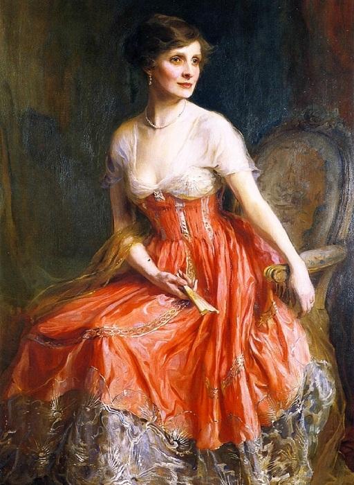 Госпожа Грэм Арчи, урожденная Дороти Шаттлворт. Автор: Филипп Алексис де Ласло.