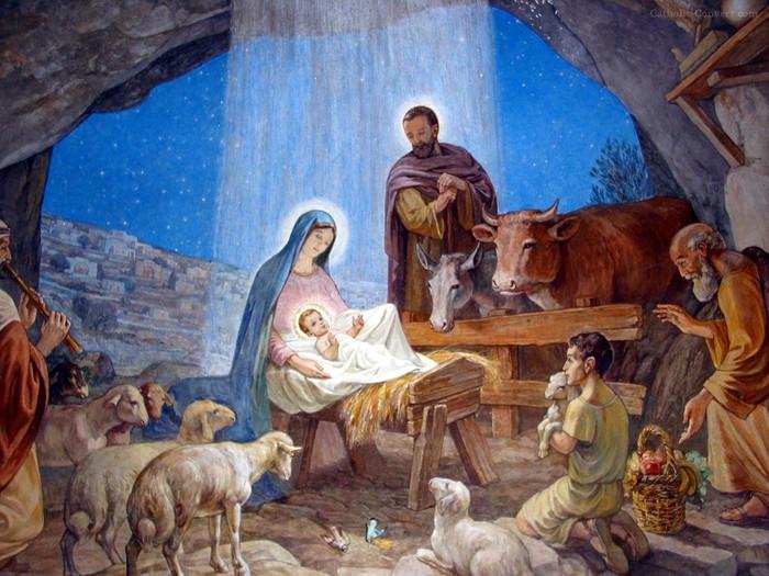 Евангельский сюжет о Рождестве Христовом.