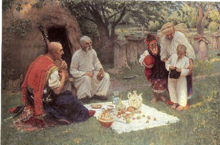 «Гость из Запорожья». Автор: Красицкий Ф.С.