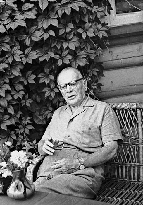 Константин Паустовский русский писатель-классик.