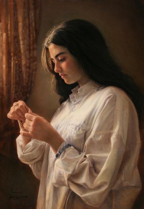 Гиперреалистические портреты от Имана Малеки.