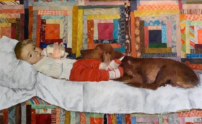 «Малыш и Джессика». (2003 год). Автор: Соломин Николай Николаевич.