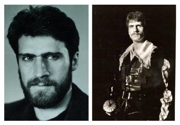 Александр Дедюшко - начинающий актер театра.