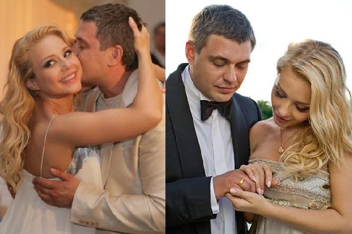 Тина Кароль и Евгений Огир.