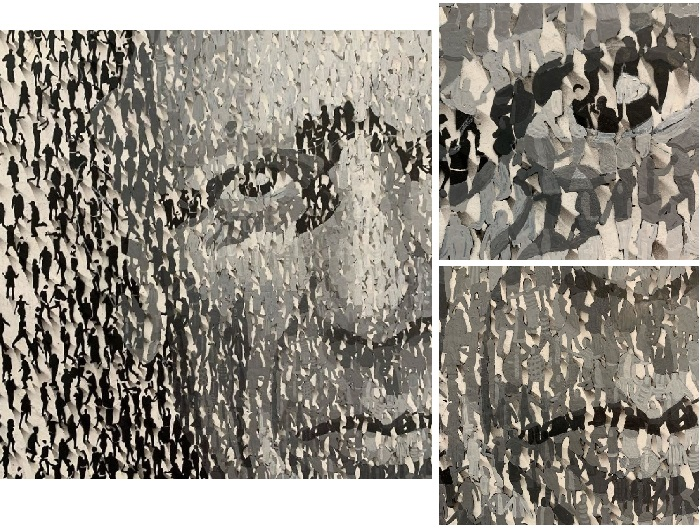 Портрет Пабло Пикассо. Фрагменты. Художник: Крейг Алан.