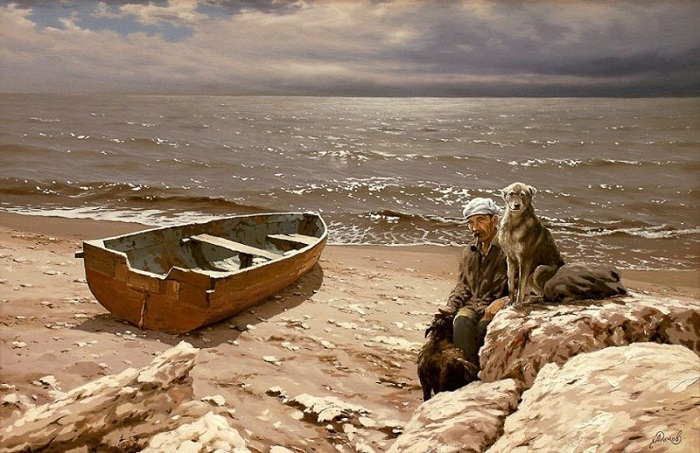 Пейзажная живопись от Алексея Адамова.