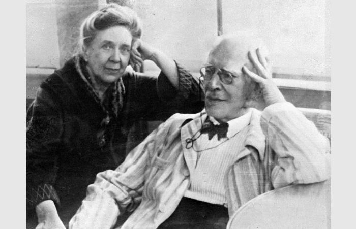 Константин Станиславский и Мария Лилина.