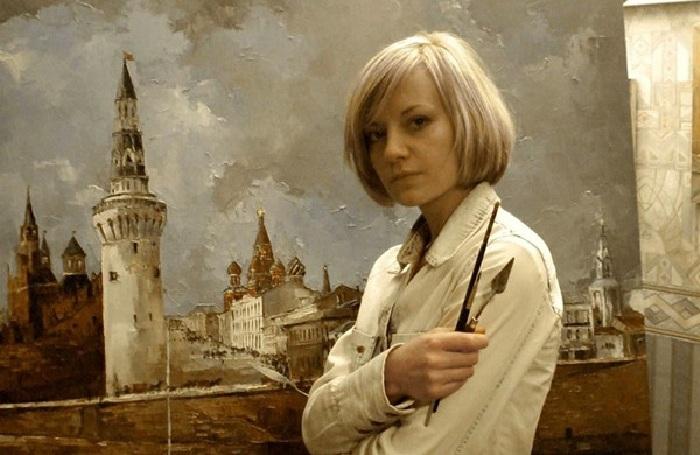 Инесса Морозова - член Творческого союза художников России.