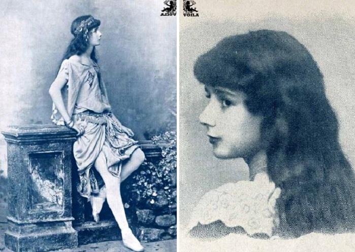 Клео де Мерод в юные годы.