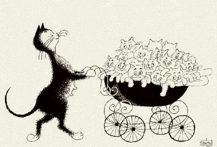 Счастливая мамаша. Автор: Альберт Дюбуа.
