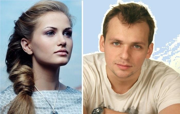 Ольга Хоxлова и Алексей Янин.